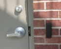 Secure Exterior Door Access Control