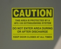 Ecaro 25 Fire Suppression System